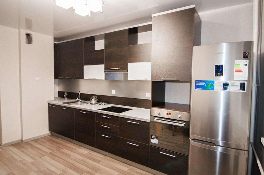 Встроенная кухня-Кухня из ЛДСП «Модель 151»-фото2