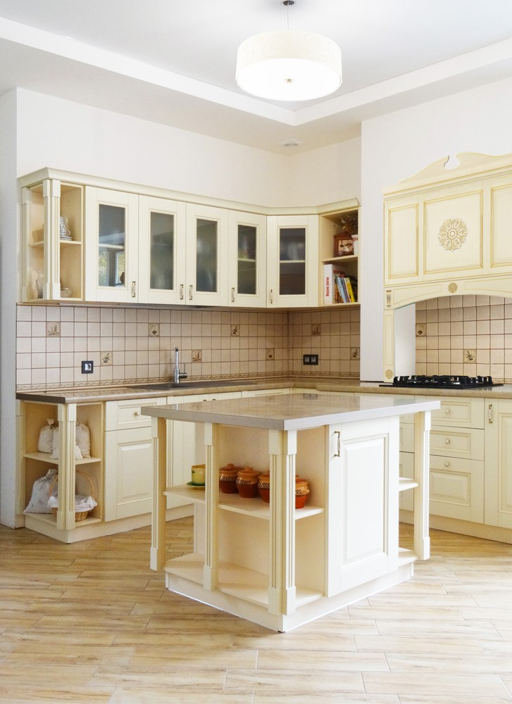 Акриловые кухни-Кухня из акрила «Модель 302»-фото1