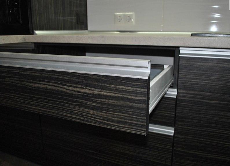 Белый кухонный гарнитур-Кухня из ЛДСП «Модель 453»-фото3