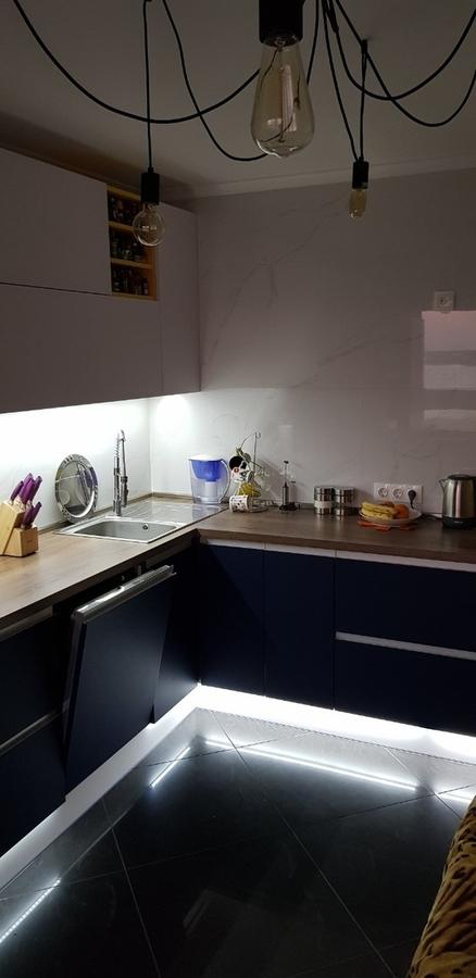 Встроенная кухня-Кухня из пластика «Модель 336»-фото4