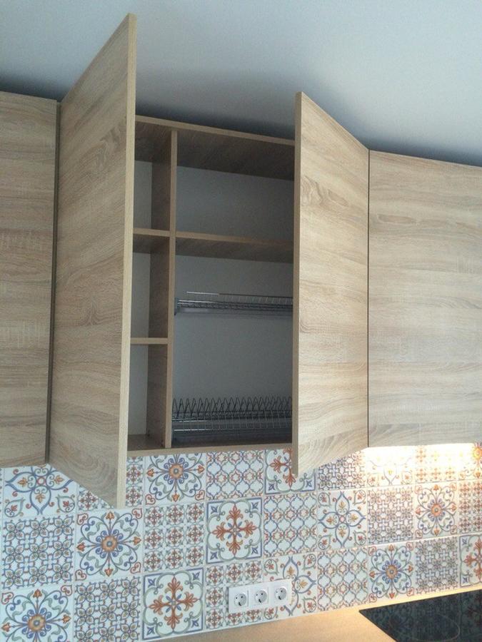 Встроенная кухня-Кухня из ЛДСП «Модель 389»-фото3