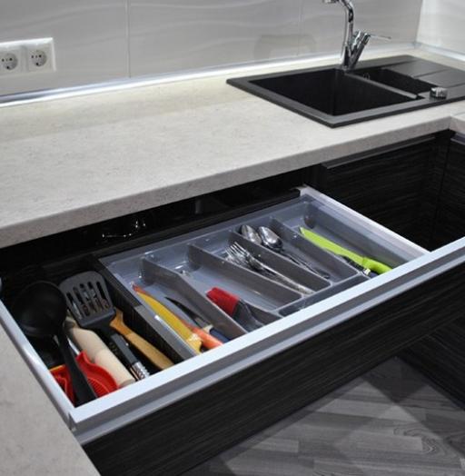 Белый кухонный гарнитур-Кухня из ЛДСП «Модель 453»-фото4