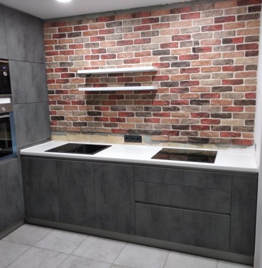 -Кухня МДФ в ПВХ «Модель 442»-фото27