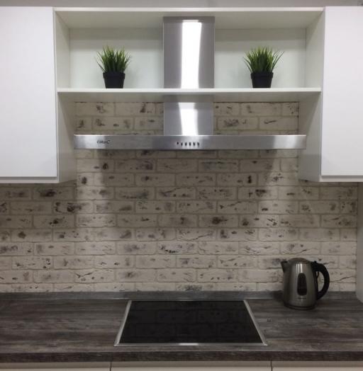 Белый кухонный гарнитур-Кухня МДФ в эмали «Модель 462»-фото3