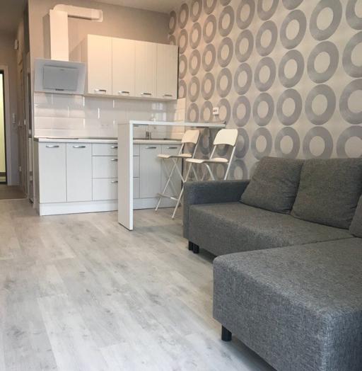 Белый кухонный гарнитур-Кухня из пластика «Модель 466»-фото2