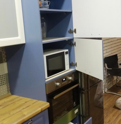 Встроенная кухня-Кухня МДФ в ПВХ «Модель 510»-фото8
