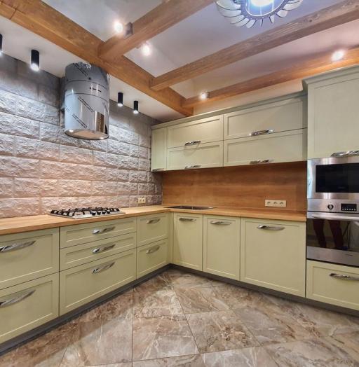 -Кухня МДФ в эмали «Модель 519»-фото13