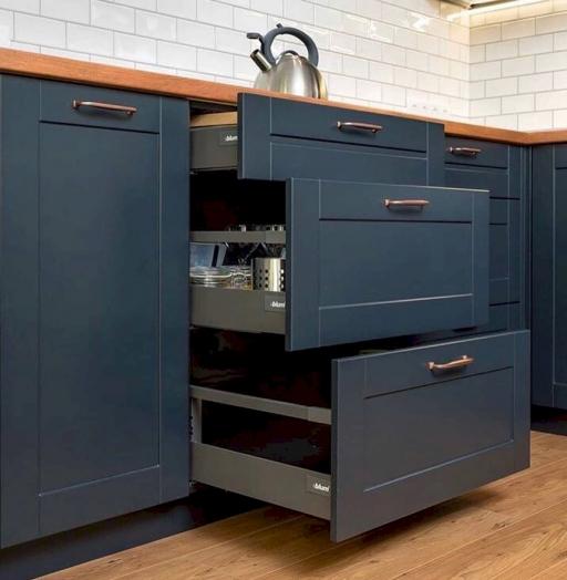 -Кухня МДФ в эмали «Модель 667»-фото24